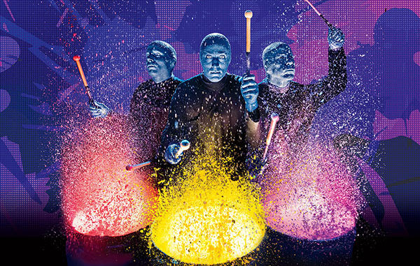 free blue man group ticket with a create your own vacation package